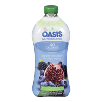 Oasis Nutrisource Low Calorie, Wild Berry & Pomegranate (1L)  - Urbery