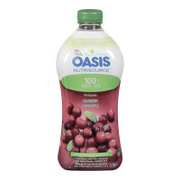 Oasis Nutrisource, Cranberry Juice (1L)  - Urbery