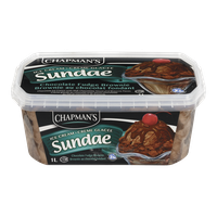 Chapman's Ice Cream Sundae Chocolate Fudge Brownie (1L)