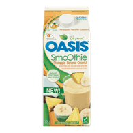 Oasis Smoothie, Pineapple Banana Coconut (2L)  - Urbery