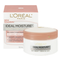 L'Oreal Ideal Moisture Radiant Tone Day/Night Cream (50mL)  - Urbery
