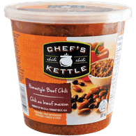 Chefs Kettle Refrigerated Soup, Beef Chili Cup (597mL)  - Urbery