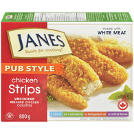 Janes Pub Style Chicken Strips (800g)  - Urbery