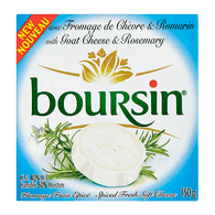 Boursin Goat Cheese Rosemary (150g)