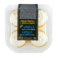 Farmer's Market Cupcakes French Vanilla Cupcakes (4 per pack)  - Urbery