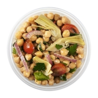 Chickpea/Artichoke/Sundried Tomato Salad (approx 350 - 400g)  - Urbery