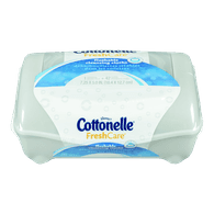 Cottonelle Flushable Cleansing Cloths, Fresh Care (42 ea)  - Urbery