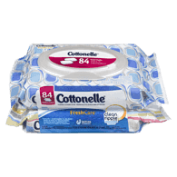 Cottonelle Flushable Cleansing Cloths, FreshCare Refills (84 ea)  - Urbery