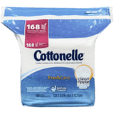 Cottonelle Flushable Cleansing Cloths, FreshCare Refills (168 ea)