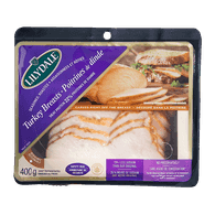 Deli Counter Lilydale Oven Roasted Turkey Breast, Sliced (400g)  - Urbery