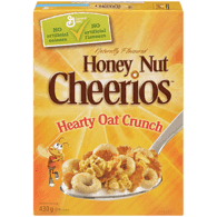 General Mills Honey Nut Cheerios Hearty Oat Crunch (430g)  - Urbery