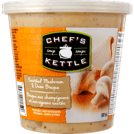 Chefs Kettle Refrigerated Soup Sauted Mushroom & Onion Bisque (597mL)  - Urbery
