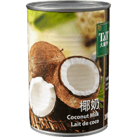 T&T Canned  Coconut Milk (400mL)  - Urbery