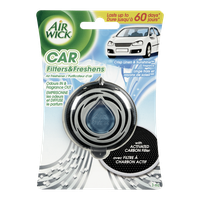 Air Wick  Car Filters & Fresheners, Linen Sunshine (1ea)  - Urbery