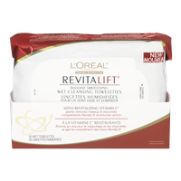 L'Oreal Revitalift Wet Cleansing Towelettes (1ea)  - Urbery