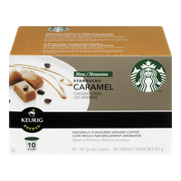 Keurig Starbucks Caramel Flavoured Coffee (10ea)  - Urbery