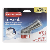 Rubbermaid Reveal Multi-Purpose Replacement Brush, Large (1ea)  - Urbery
