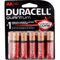 Duracell Quantum Alkaline Batteries, AA (10ea)  - Urbery
