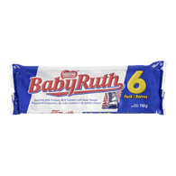 Nestle Baby Ruth Snack Size 6 pieces (110g)  - Urbery