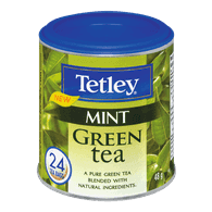Tetley Green Tea, Mint (24ea)  - Urbery