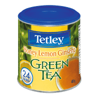 Tetley Green Tea, Honey Lemon Ginseng (24ea)  - Urbery