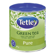 Tetley Pure Green Tea (24ea)  - Urbery