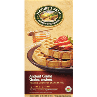 Nature's Path Organic Waffles, Ancient Grains (210g)  - Urbery