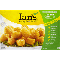 Ians Chicken Nuggets, Family Pack (567g)  - Urbery