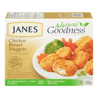Janes Natural Goodness Chicken Breast Nuggets (700g)  - Urbery