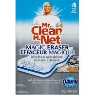 Mr. Clean Magic Eraser Kitchen Scrubber (4ea)  - Urbery