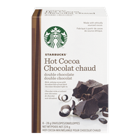 Starbucks Hot Cocoa, Double Chocolate (8x28g)  - Urbery