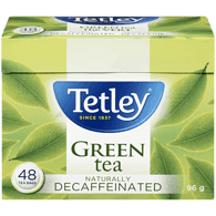 Tetley Green Tea, Decaf (48ea)  - Urbery