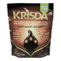 Krisda Semi-Sweet Chocolate Chips (285g)  - Urbery