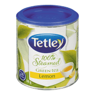Tetley 100% Steamed Green Tea, Lemon (24ea)  - Urbery