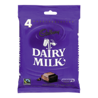 Cadbury Dairy Milk Bar (4x42g)  - Urbery