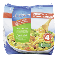 Swanson Family Sized Skillet Meals, Garlic Chicken (1.19kg)  - Urbery