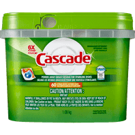 Cascade Dishwasher Detergent with Dawn, Citrus Scent (60ea)  - Urbery