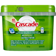 Cascade ActionPacs with Dawn, Fresh Scent (60ea)  - Urbery