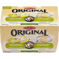 Astro Original Yogurt, Vanilla Cream/Lemon Meringue/Key Lime/Coconut Cream (12x100g)  - Urbery