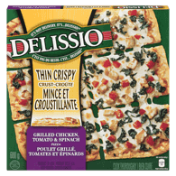 Nestle Thin Crispy Crust Pizza, Grilled Chicken, Tomato & Spinach (600g)  - Urbery