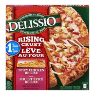 Delissio Rising Crust Pizza, Spicy Chicken Deluxe (846g)  - Urbery