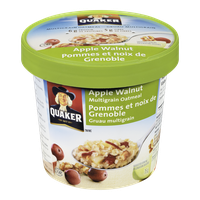 Quaker Oatmeal Cup, Apple Walnut (75g)  - Urbery