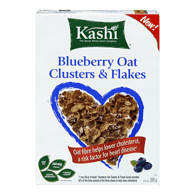 Kashi Blueberry Oat Clusters & Flakes (380g)  - Urbery