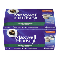 Maxwell House Single Serve Pods, Decaf (12ea)  - Urbery