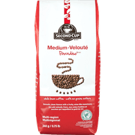 Second Cup Second Cup Medium Roast, Whole Bean (340g)  - Urbery