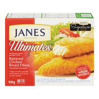 Janes Battered Chicken Breast Fillets (920g)  - Urbery