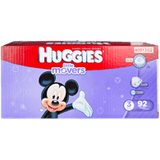 Huggies Little Movers, Super Pack Size 3 Diapers (92 ea)