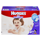 Huggies Little Movers, Mega Colossal Pack Size 5 Diapers (120 ea)