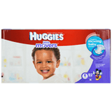 Huggies Little Movers, Mega Colossal Pack Size 6 Diapers (92 ea)