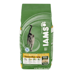 Iams Senior Plus Dry Cat Food (2kg)  - Urbery
